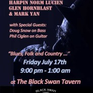 Harpin' Norm and The Memphis Charm return to the Black Swan
